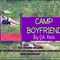SPECIAL PRE-SALE EVENT & GIVEAWAY — Camp Boyfriend by J.K. Rock