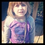 Don't tell anyone - she's batgirl.